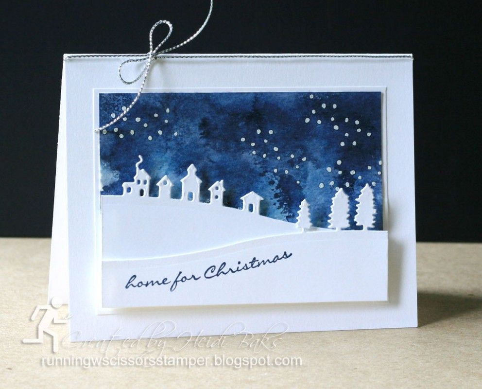 Stepped-Up Sleigh Ride Landscape by hlw966 - Cards and Paper Crafts at Splitcoaststampers