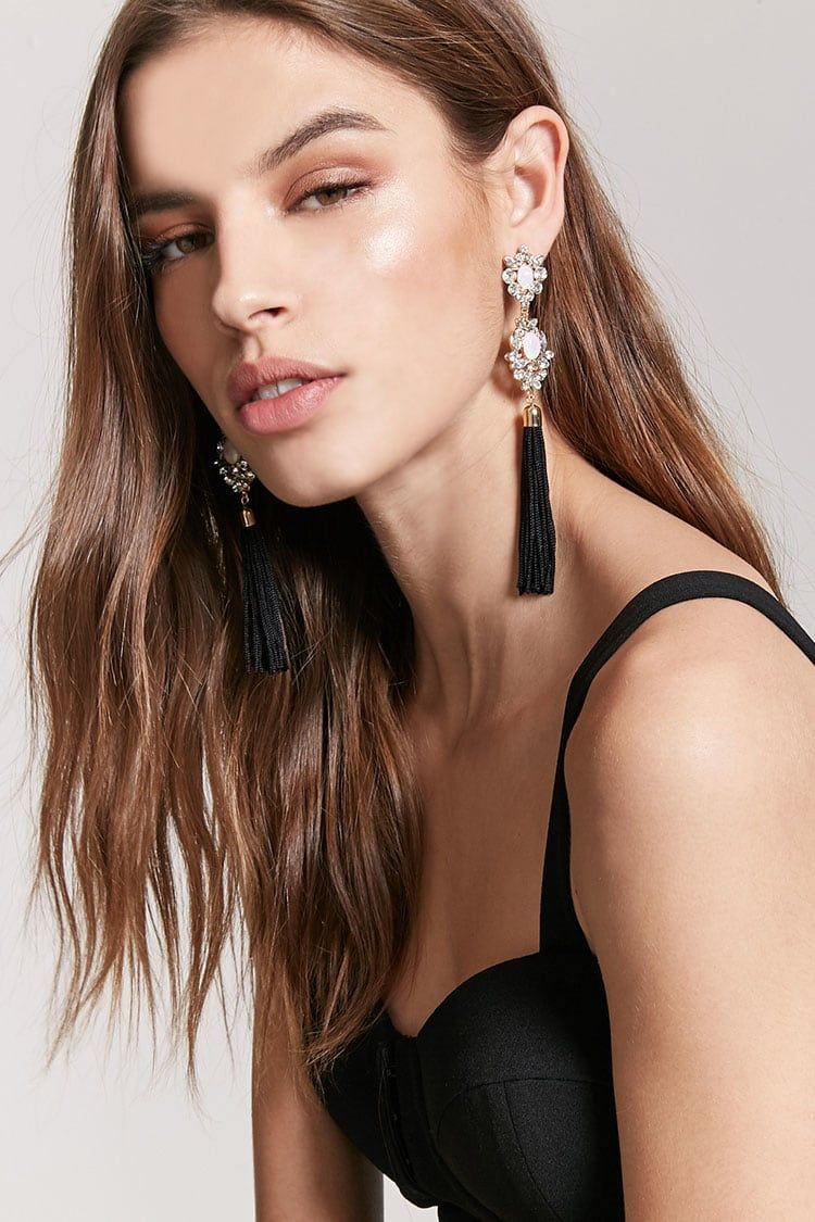 Product Name:Faux Gem Cluster Earrings, Category:ACC