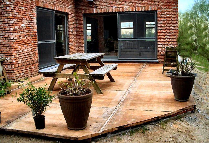 Hardhouten steenschotten terras google zoeken steenschotten pinterest - Bedek een houten terras ...