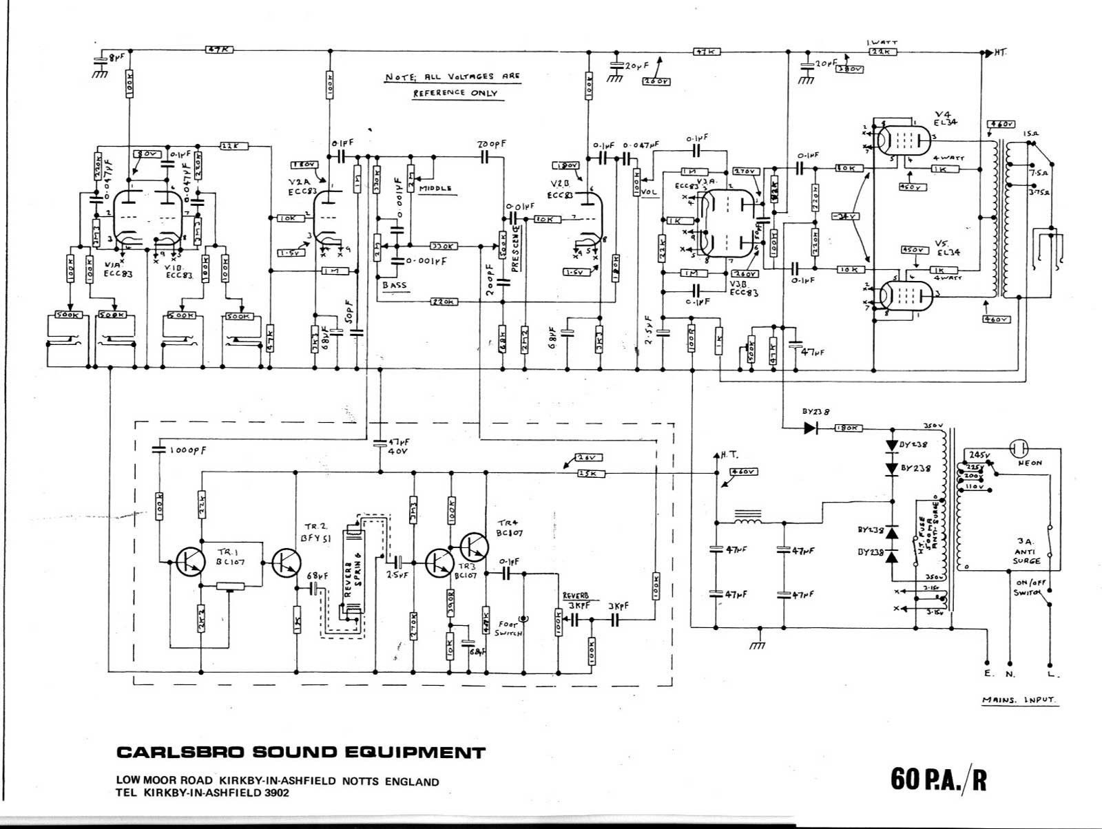 hight resolution of  peavey accessories new guitar telstar wiring diagram diagram diagramsample on speaker crossovers circuit