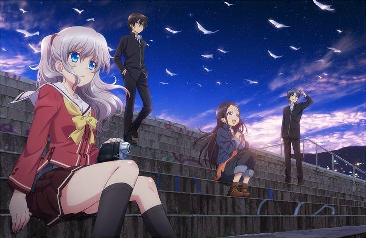 Anime Charlotte Wallpaper Tim Với Google If You Love Manga Anime And If You Want To Personalize Your Windows P Charlotte Anime Charlotte Wallpaper Anime