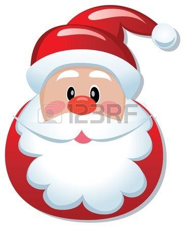 Immagini Natalizie Vettoriali.Stock Photo Natale Natale Babbo Natale E Illustrazioni