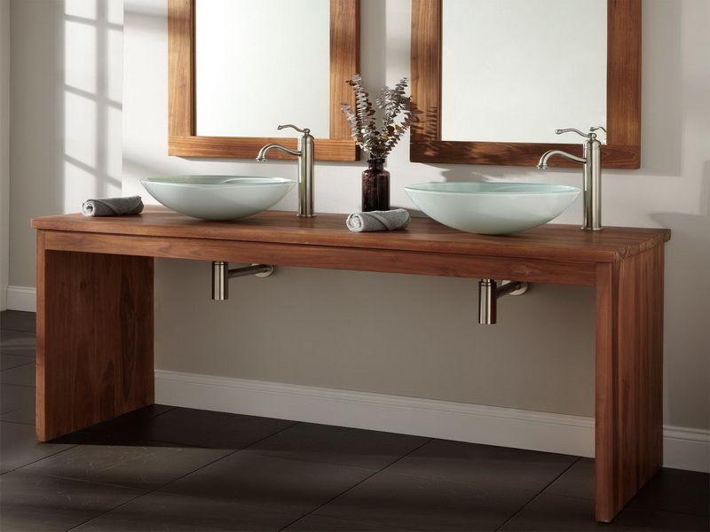 Lovely Teak Bathroom Furniture