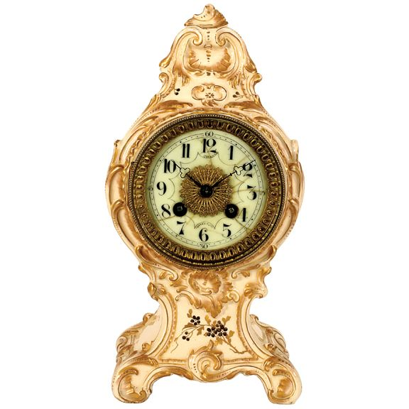 French China Clock on Merritts.com