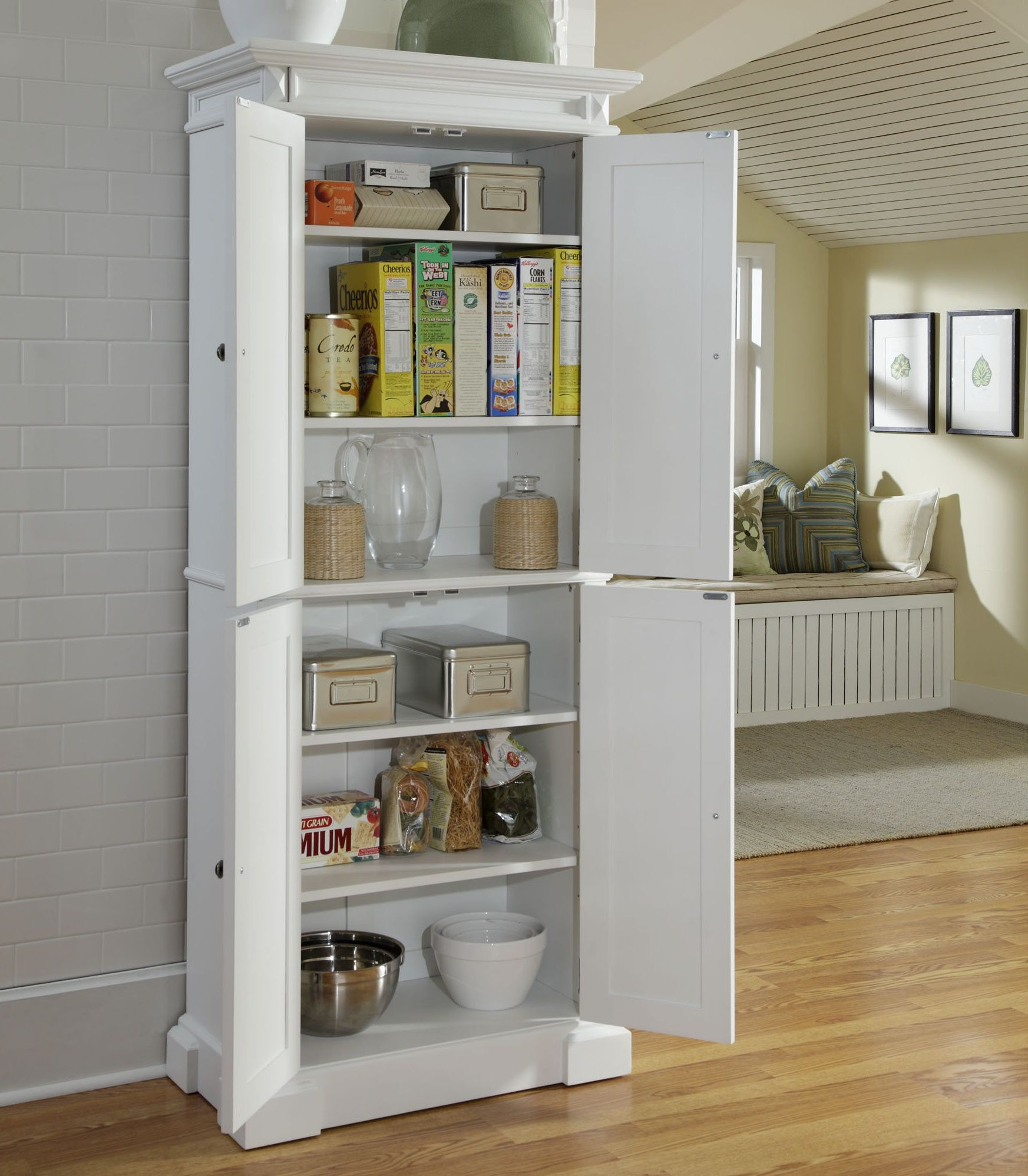 Lowes Bathroom Storage Shelves Kitchen Pantry Cabinet