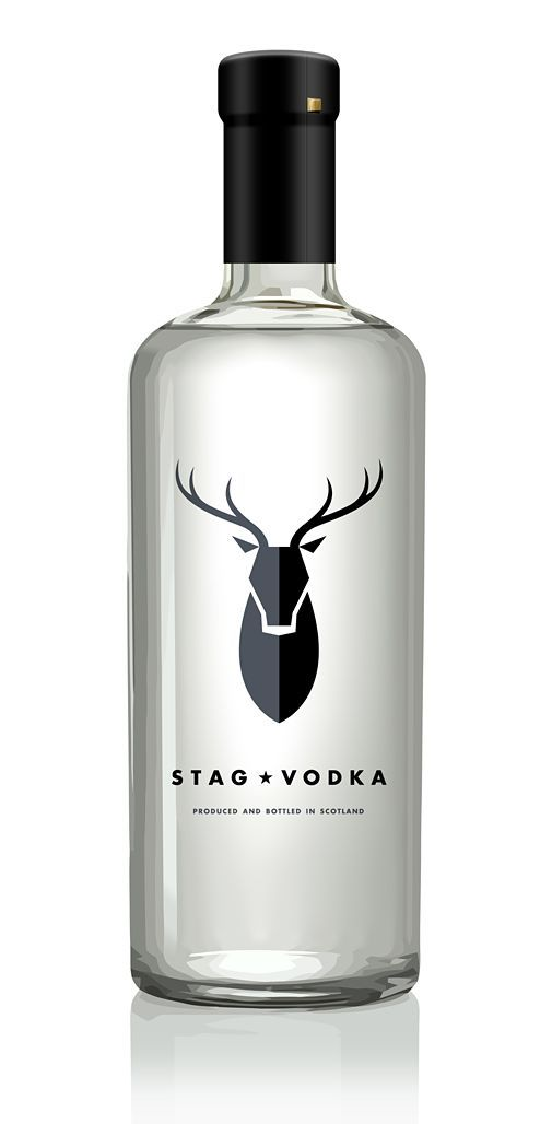 Stag Vodka The Logo In This Bottle Is Great How There