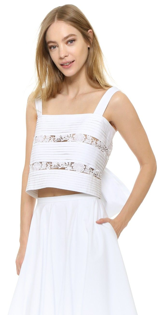Rochas Sleeveless Top | SHOPBOP
