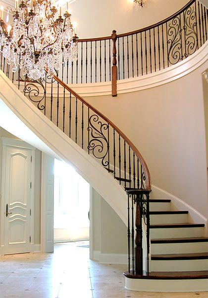 Best Rebecca Panels Paired With Monte Carlo Balusters In Satin 400 x 300
