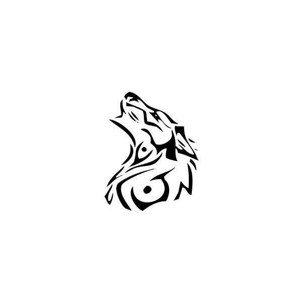 Native American Wolf Symbol Liked On Polyvore Polyvore