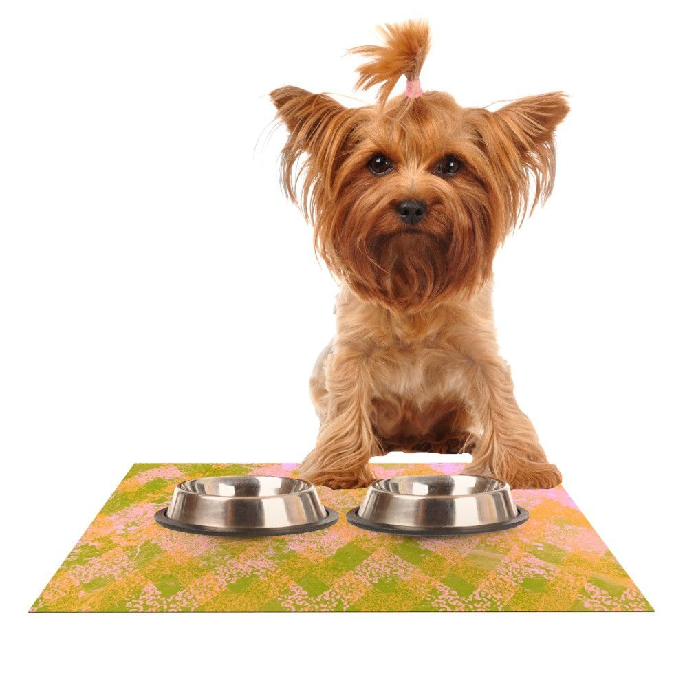 "Marianna Tankelevich ""Fuzzy Feeling"" Dog Place Mat"