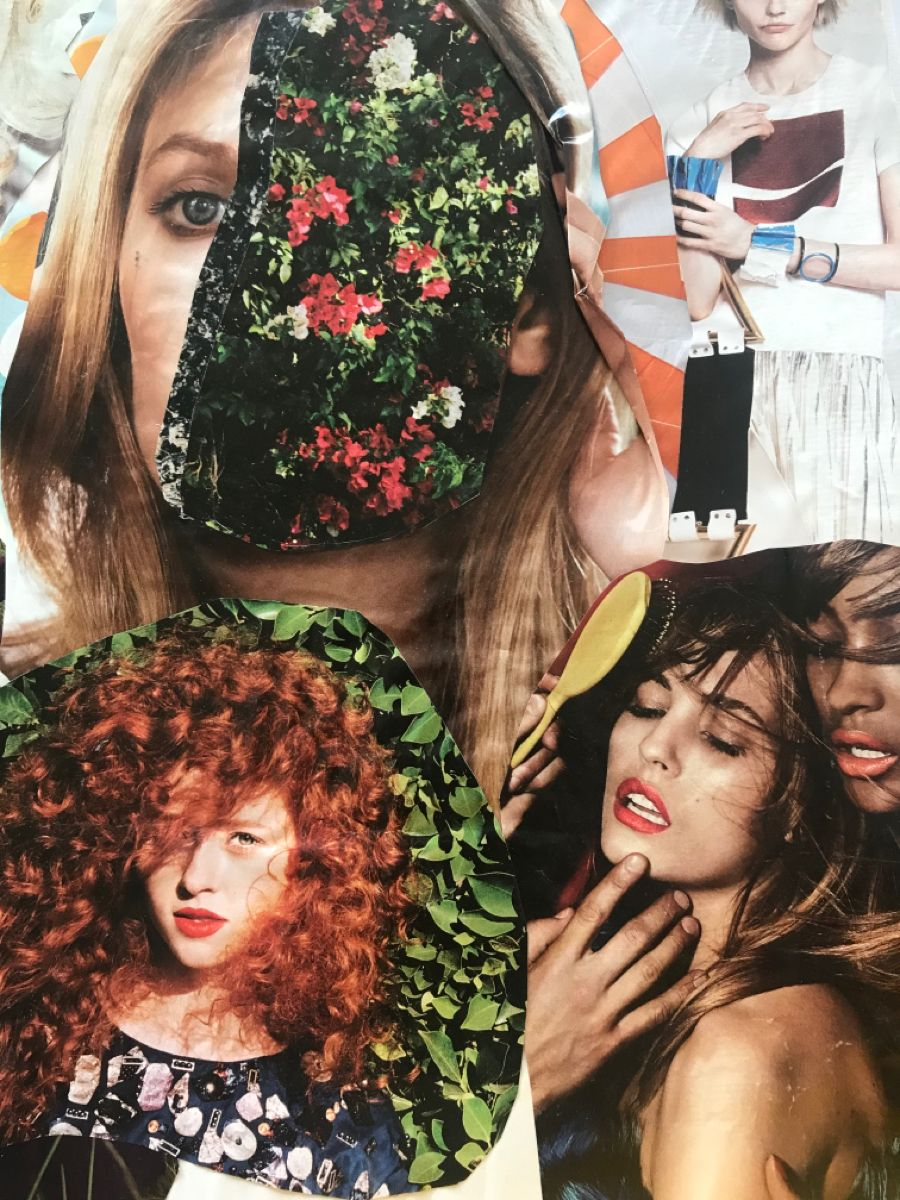 #art #womensart #cutandpaste #collage
