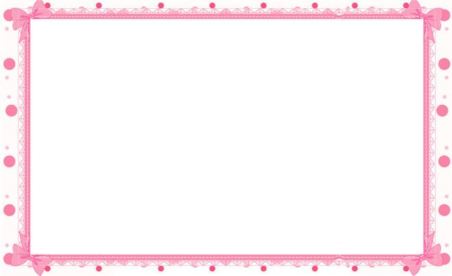 pink floral borders printable stationary border paper, free