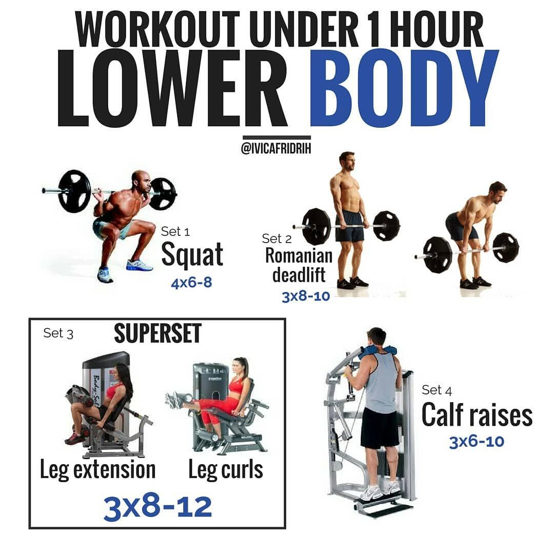 Gain Leg Mass With This 4 Week And Daily Multiple Exercise Plan Gymguider Com Lower Body Workout Fitness Body Legs Workout