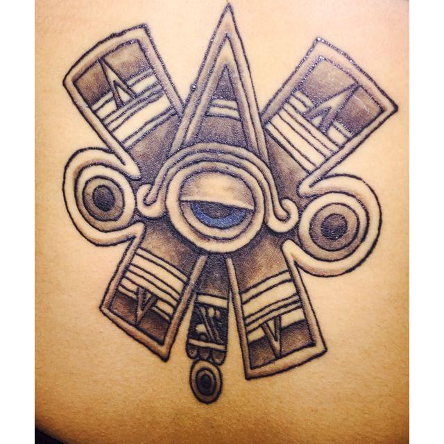 d0f8efaa4d91e Ollin tattoo from the Aztec calendar | Tattoo ideas | Tattoos, Aztec ...