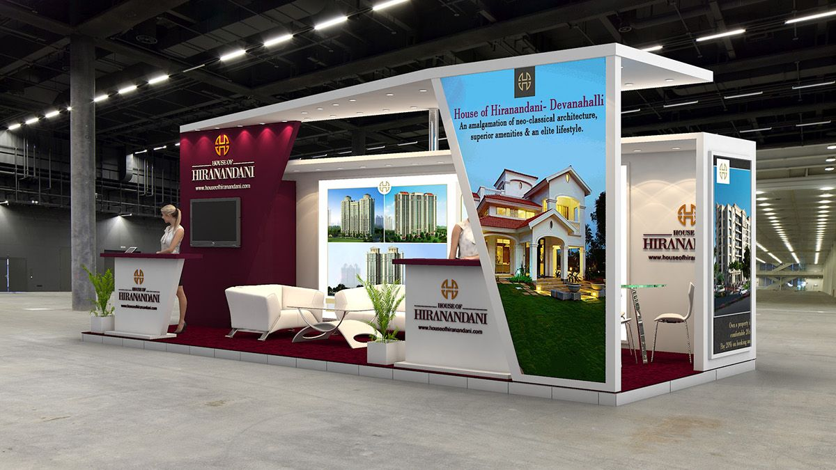 Property Exhibition Booth : House of hiranandani exhibition design for indian property show