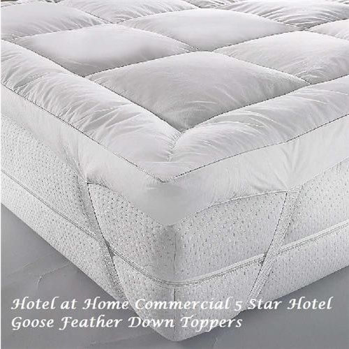 Luxury Goose Feather Down Topper As Used In Some Sofitel Hotels Queen Uk Mattress Mattress Topper Mattress Covers
