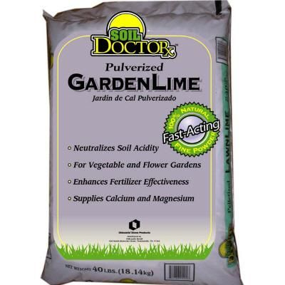 Pulverized Garden Lime 50051550 At The Home Depot