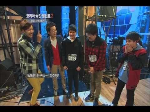 "Robot performance, ""Bunker"" - Korea`s Got Talent 2, 벙커 - 코리아갓탤런트2"