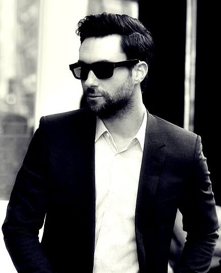 Adam with facial hair and stunnnas...it couldn't possibly get any better.