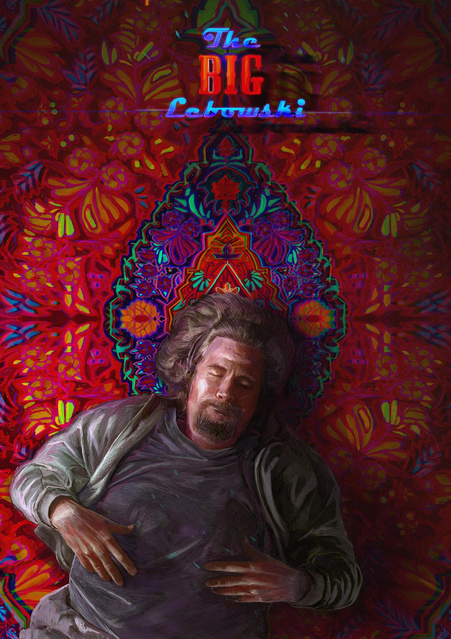 The Big Lebowski (1998) [1500 2123] by Ksenia Lanina in
