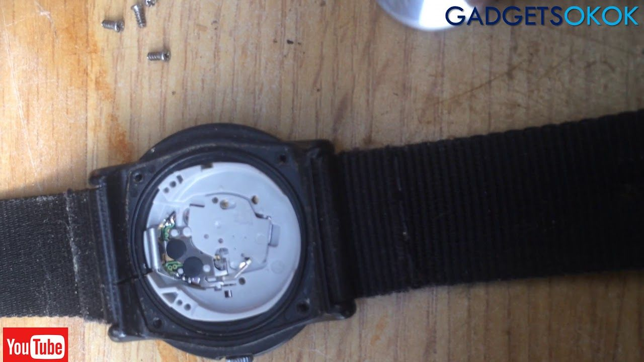 How to change your watch battery timex watch Watch