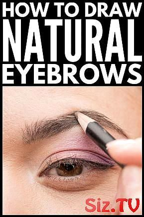 how to draw eyebrows naturally easy 6 steps arches