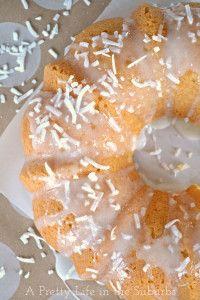 Beautiful! > Coconut Pound Cake with Coconut Sugar Glaze