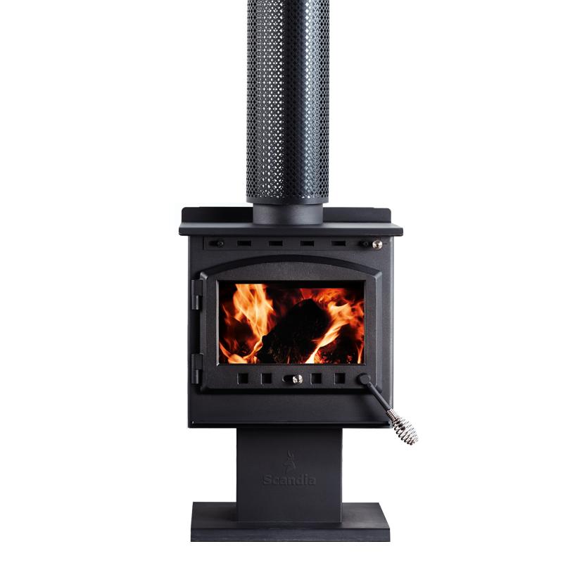 Scandia Warmbrite 140sqm Indoor Radiant Wood Heater ...
