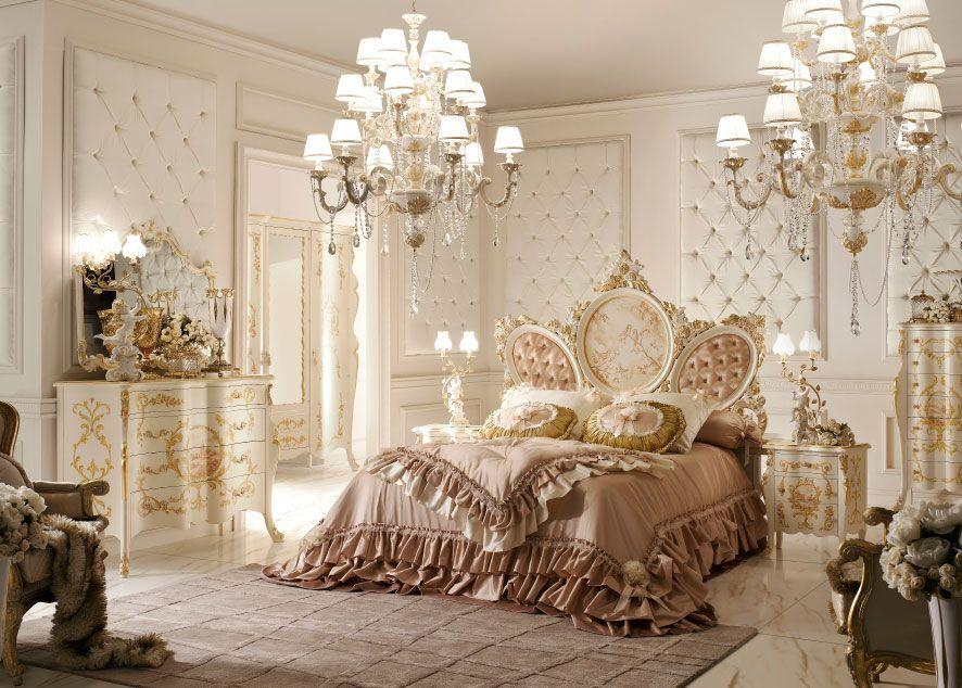 Camera Matrimoniale Stile Veneziano.Camera Da Letto Classica E Di Lusso In Stile Veneziano E Fiorentino