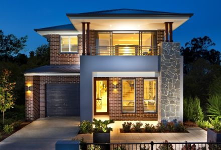 clarendon display homes ariel 27 gallery facade visit wwwlocalbuilderscom - Modern Display Homes