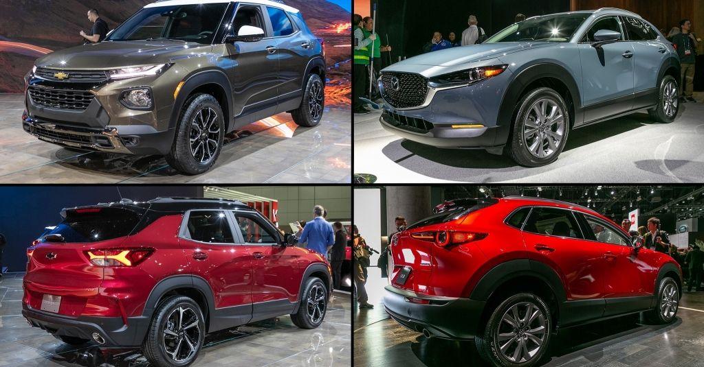 Compact Suv Comparison 2021 Chevrolet Trailblazer Vs 2020 Mazda