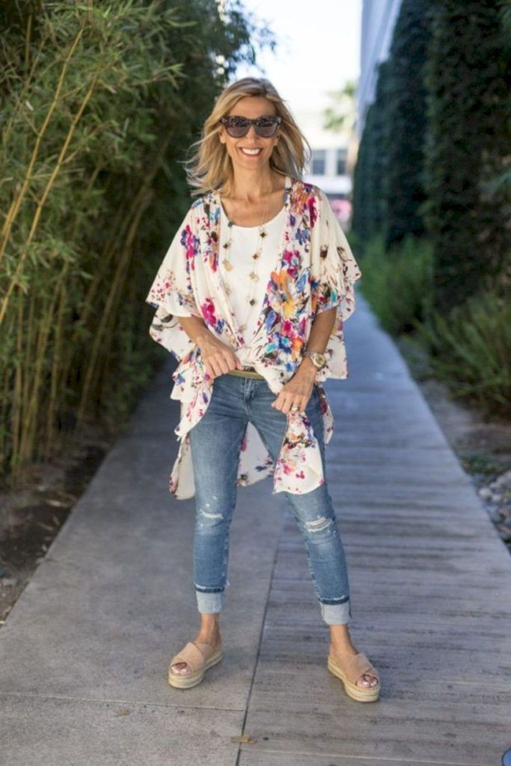 Trends For Spring Summer Clothes For Real Women Over 40: 44 Inspiring Spring And Summer Outfits Ideas For Women
