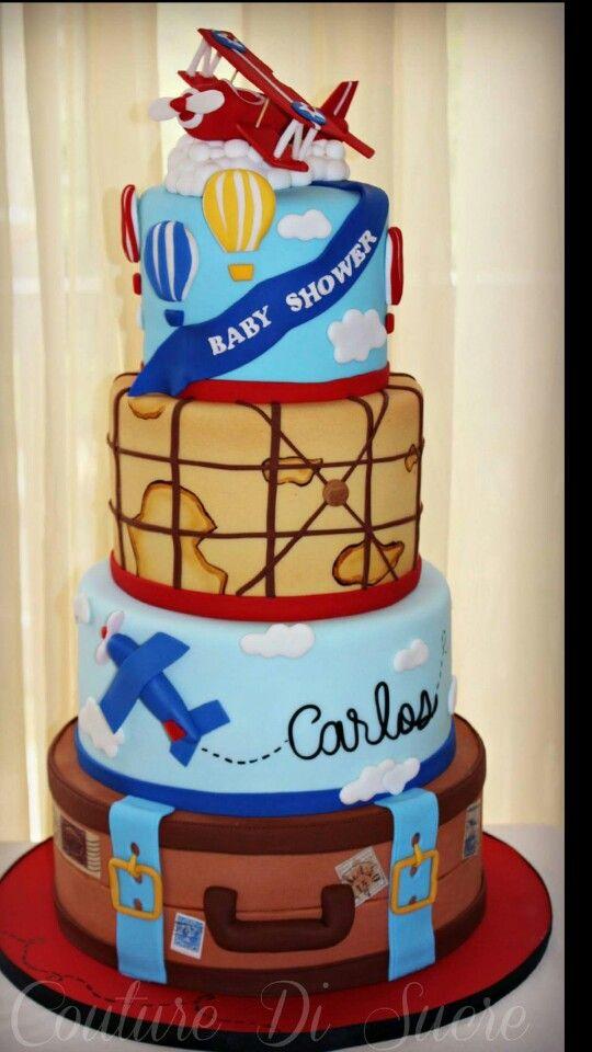 Avión cake
