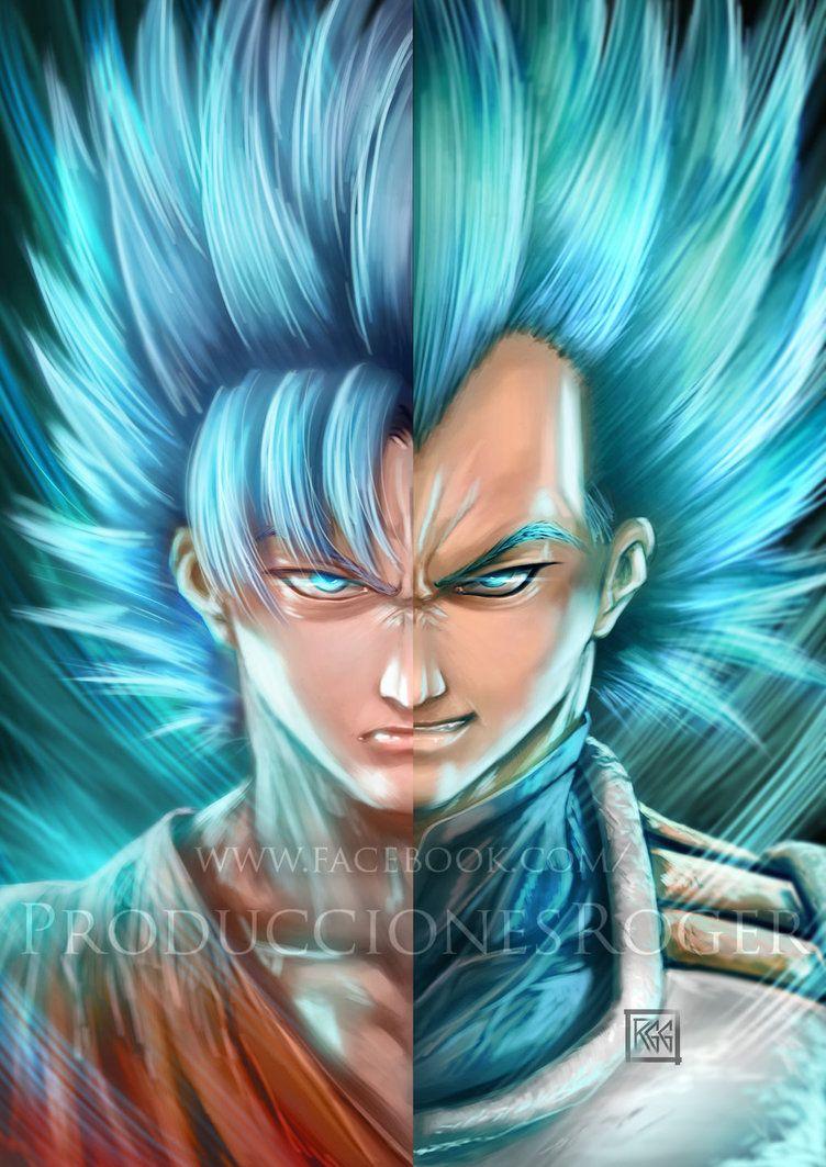 Goku And Vegeta By Wizyakuza Goku And Vegeta Goku Naruto And Sasuke