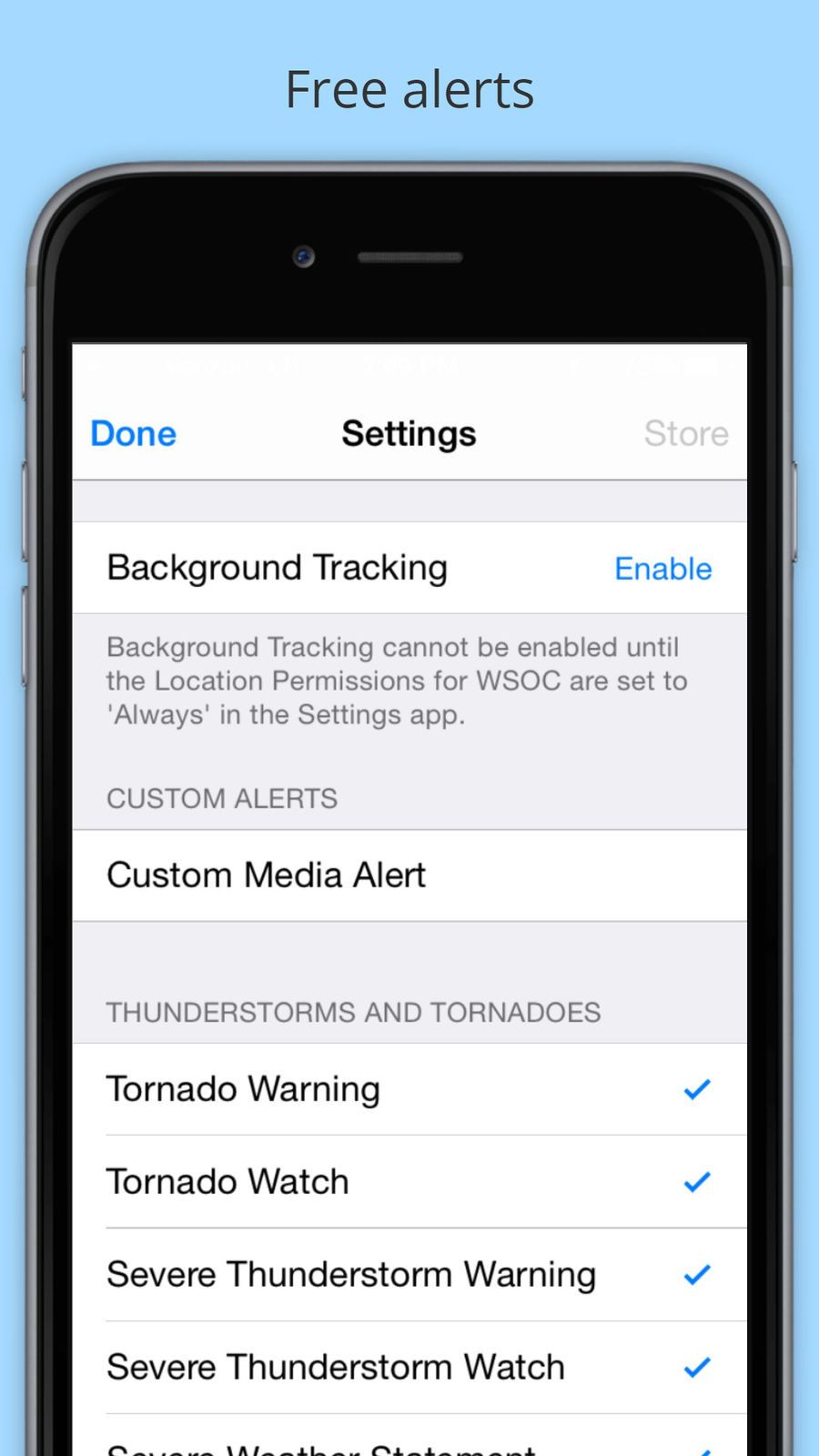 WSOC-TV Channel 9 Weather App #Media#Cox#Group#ios | Apple