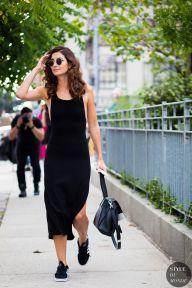 New York Fashion Week SS 2016 Street Style: Lily Aldridge
