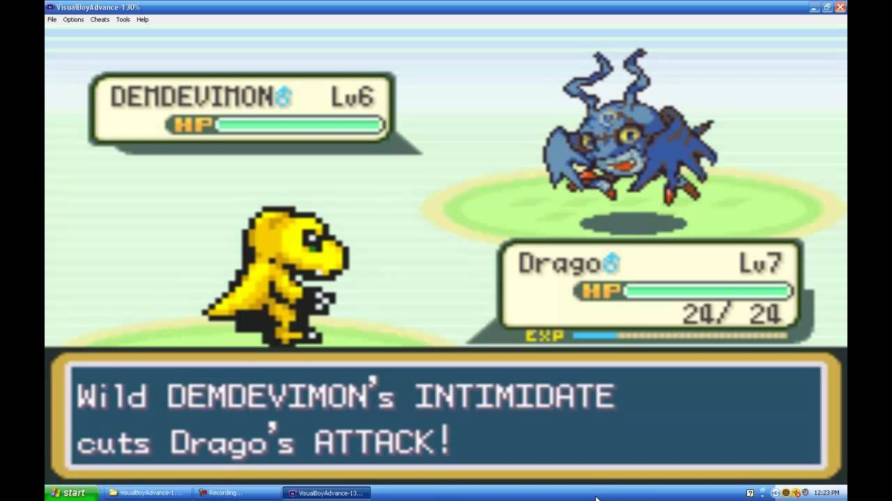 digimon games for gba download