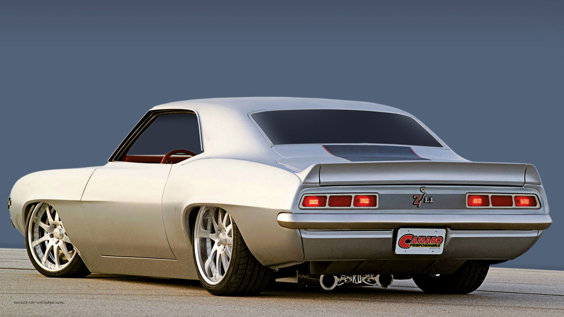 1969 Camaro Custom Muscle Car Wallpaper 1920 16 Chevrolet Camaro