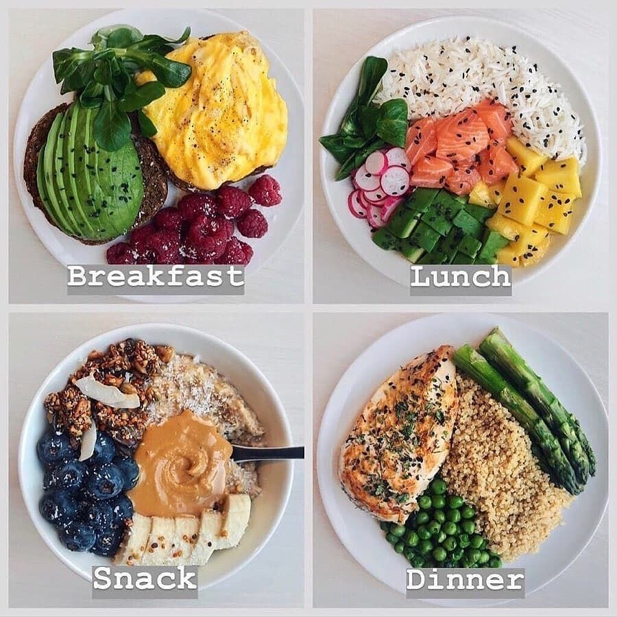 """What I Eat in a Day"""" Meal Prep inspo 🍱💫✨ Swipe for 12 healthy ..."""