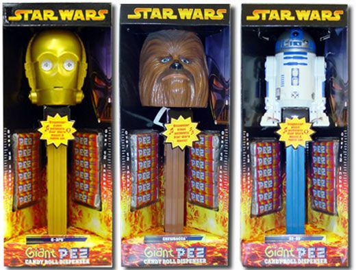 Need these, I have the giant Emperor that plays the Stars Wars March