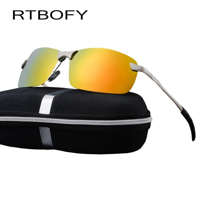 eb57ddad571 RTBOFY Car drivers night vision Goggles Anti-glare Polarizer Sunglasses  Polarized Driving Glasses With Box
