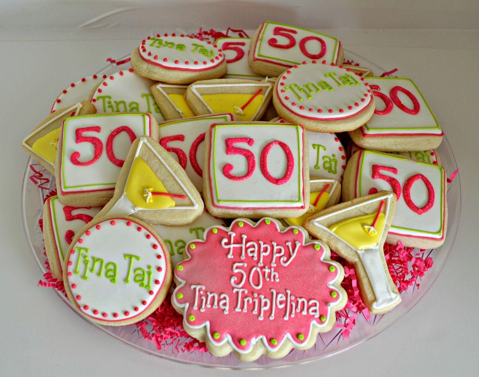 50th birthday cookies birthday martini hello cupcake