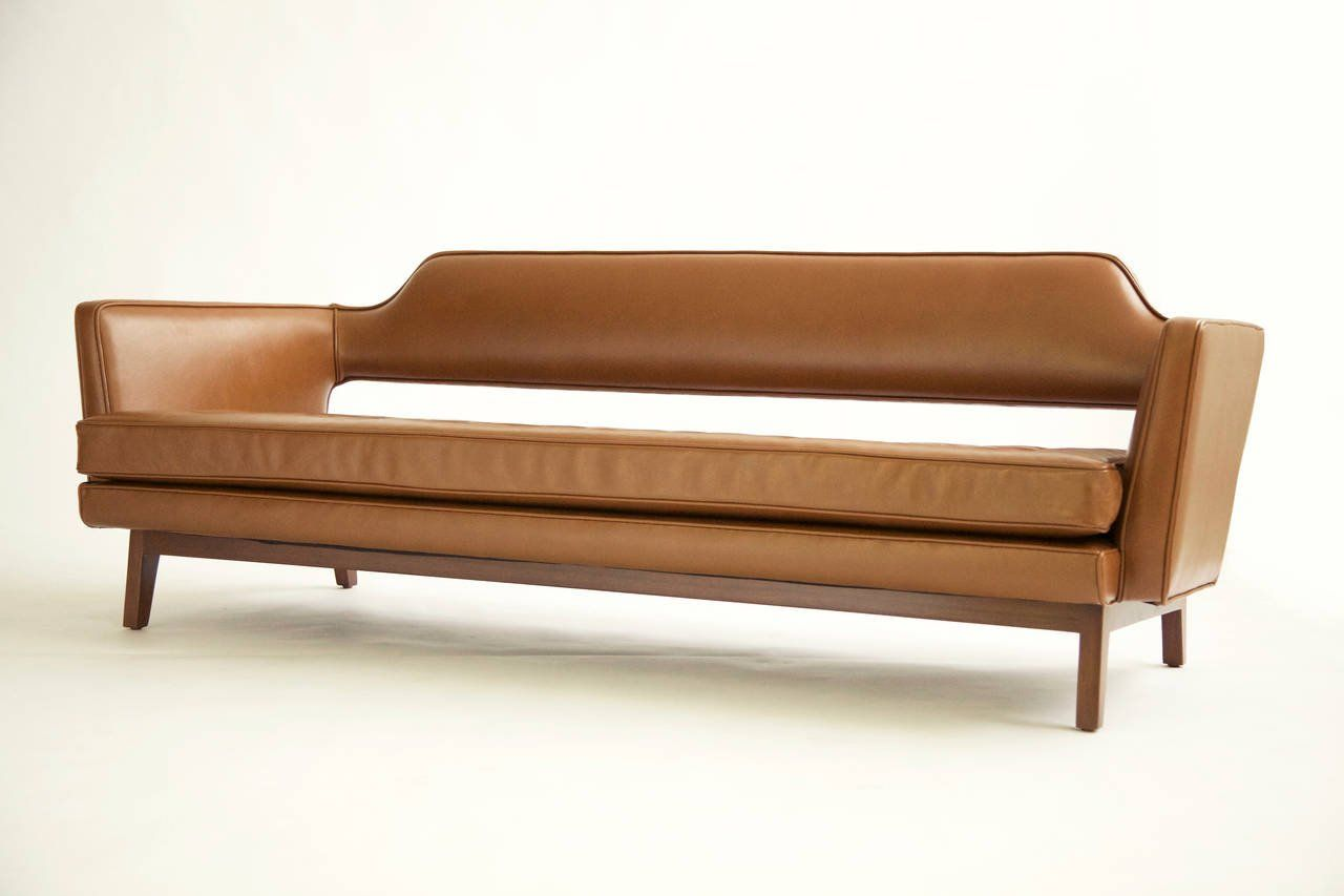Edward Wormley Open Back Sofa For At 1stdibs