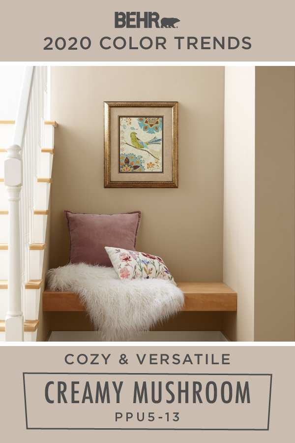 Cozy And Versatile There S Nothing Like A Neutral Wall Color Such As Creamy Mushroom To Add A Ti Living Room Wall Color Room Wall Colors Neutral Wall Colors #neutral #wall #colors #for #living #room