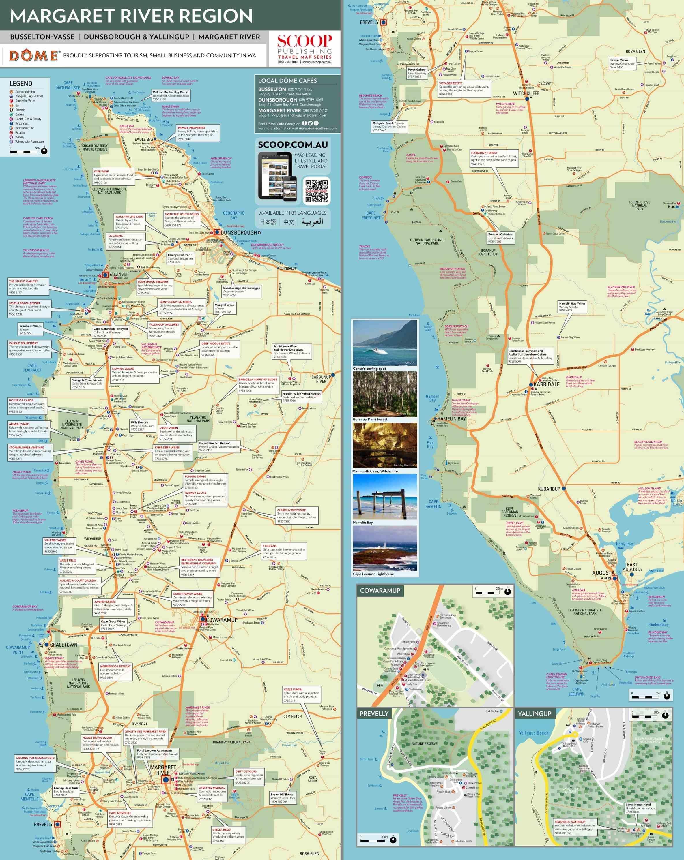 Margaret River Map new land use for media margaret river australia map statements