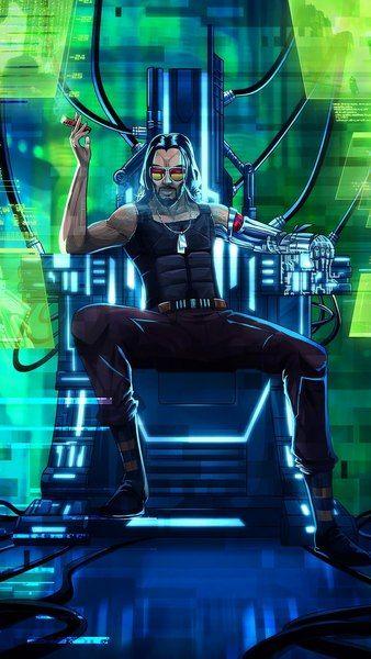 Cyberpunk 2077 Johnny Silverhand Keanu Reeves 4k 3840x2160 1920x1080 2160x3840 1080x1920 Wallpaper Cyberpunk 2077 Cyberpunk Cyberpunk Aesthetic