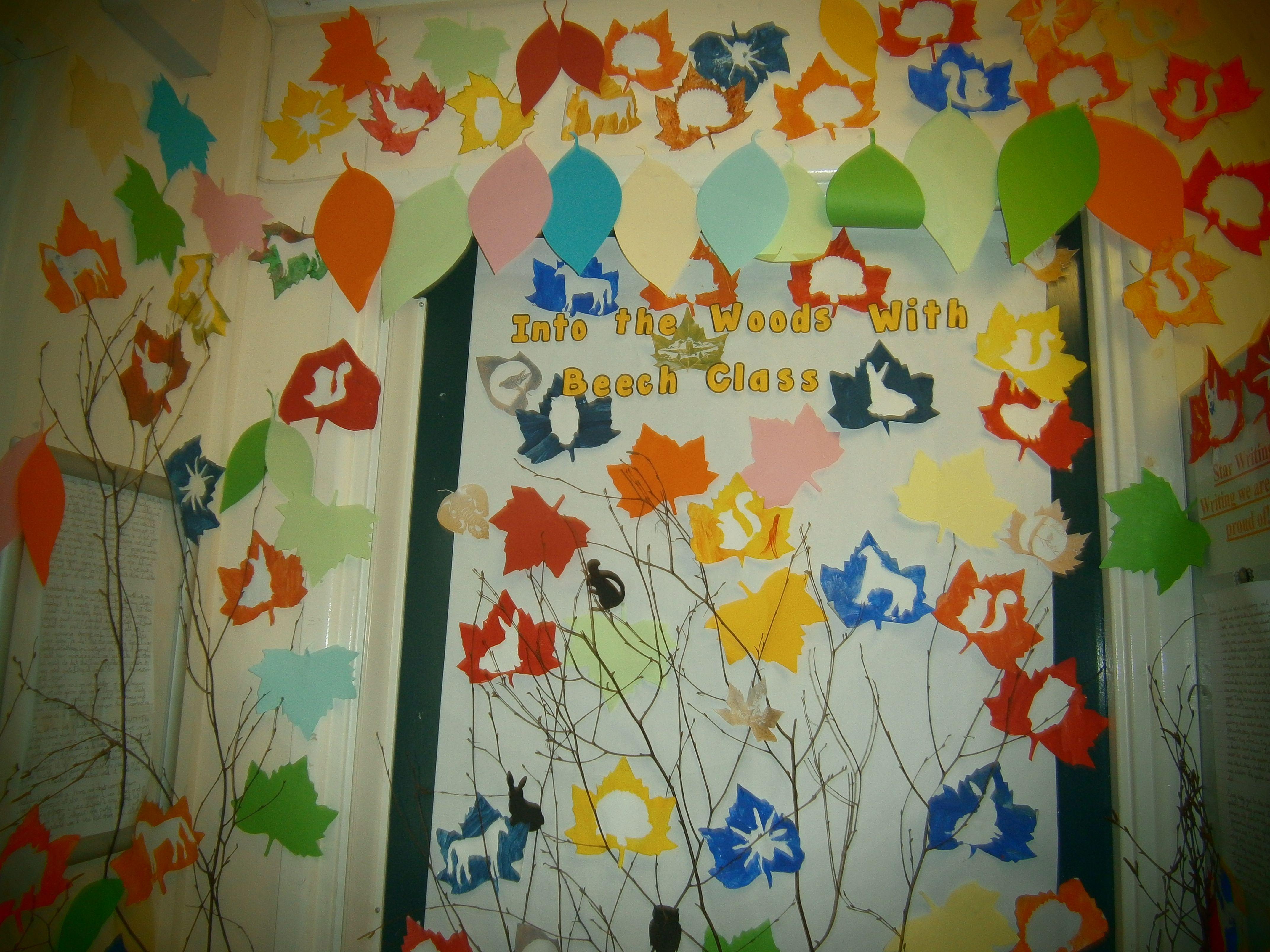 Class door display topic- Into the Woods Anthony Browne & Class door display topic- Into the Woods Anthony Browne | Author ...