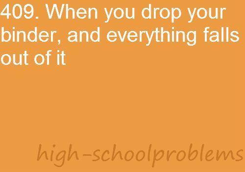 #HighSchoolProblems #BackThen