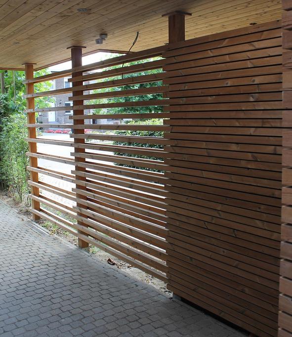 Lattage Bois Clairevoie Original Terrasse Jardin Architecture