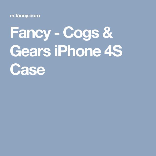 Fancy - Cogs & Gears iPhone 4S Case